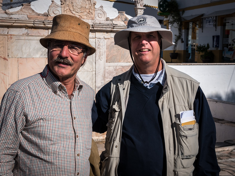 Russ with one of our local guides, Labanio