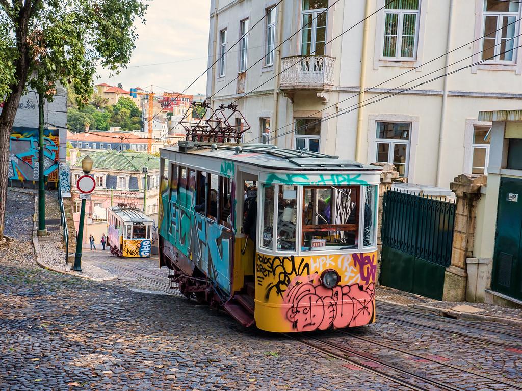 Street Car (funicular), Lisbon