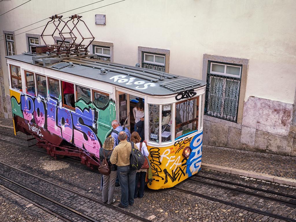 Lisbon Street Car (Funicular)