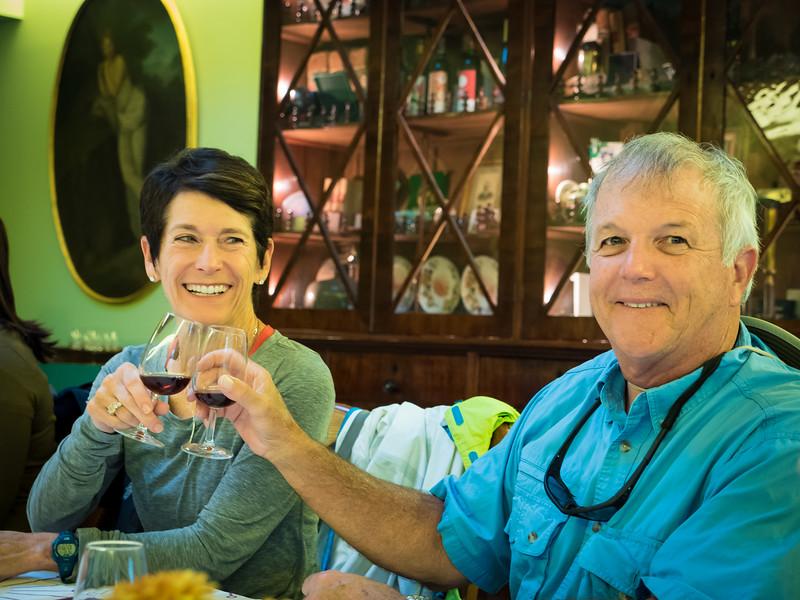 Wine tasting at Pacheca Winery