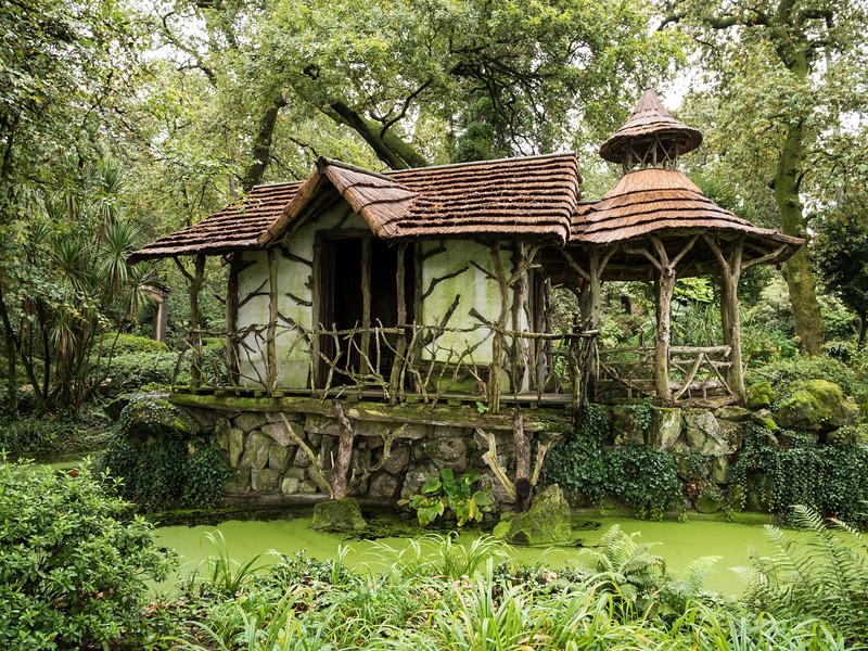 Enchanted gardens at Avedela Winery