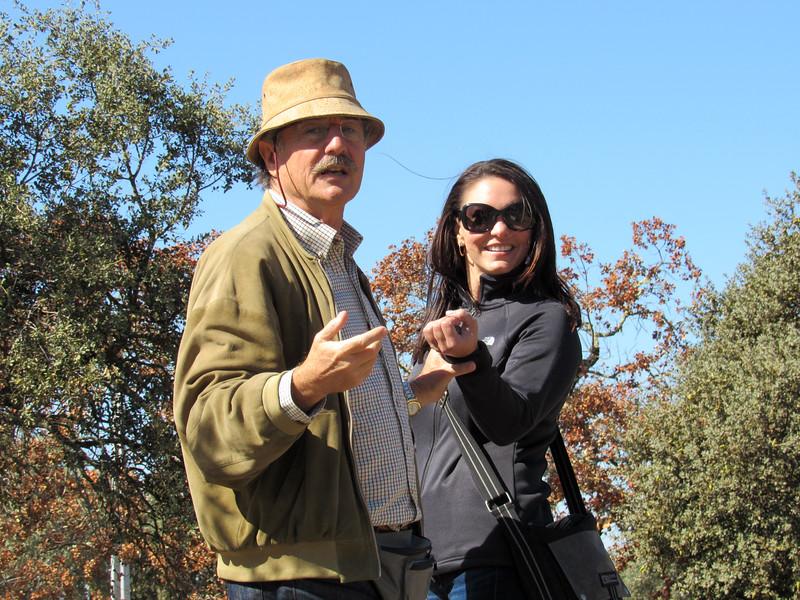 Our guide explaining Lover's Rock
