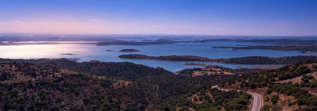Panoramic view from Monsaraz