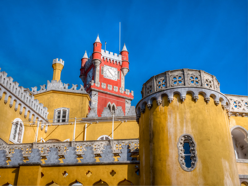 Palace of Pena, in Sintra