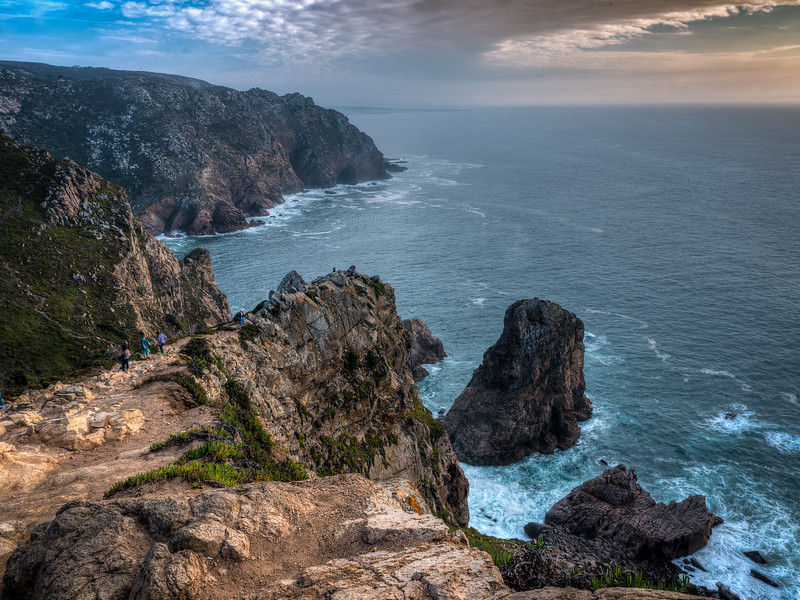 Cabo Roca, westernmost point of Europe