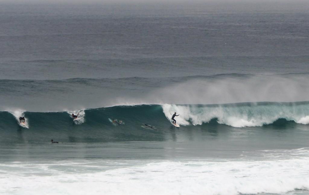 Surfer near Cascais