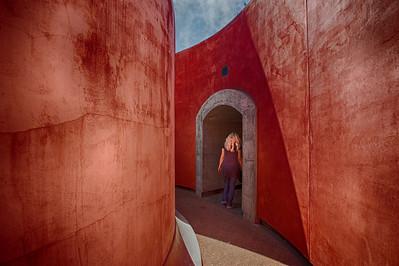 Through these walls...