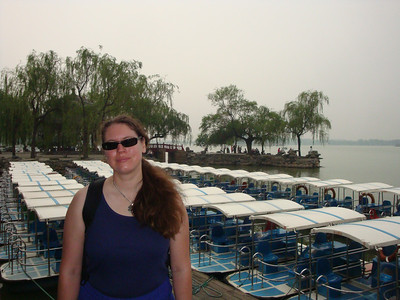 Susanne at the Summer Palace