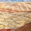 Colorful layers of the Painted Hills