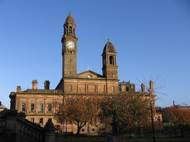 Paisley Town Hall.