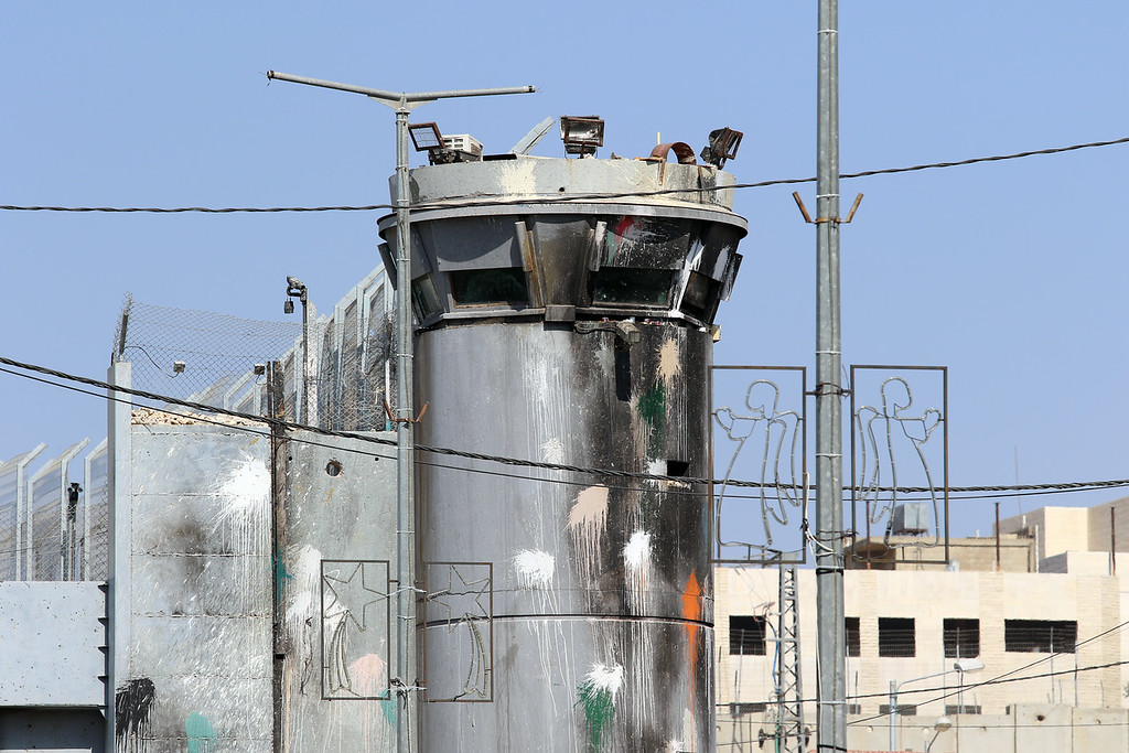 Bethlehem, Israeli Guard House