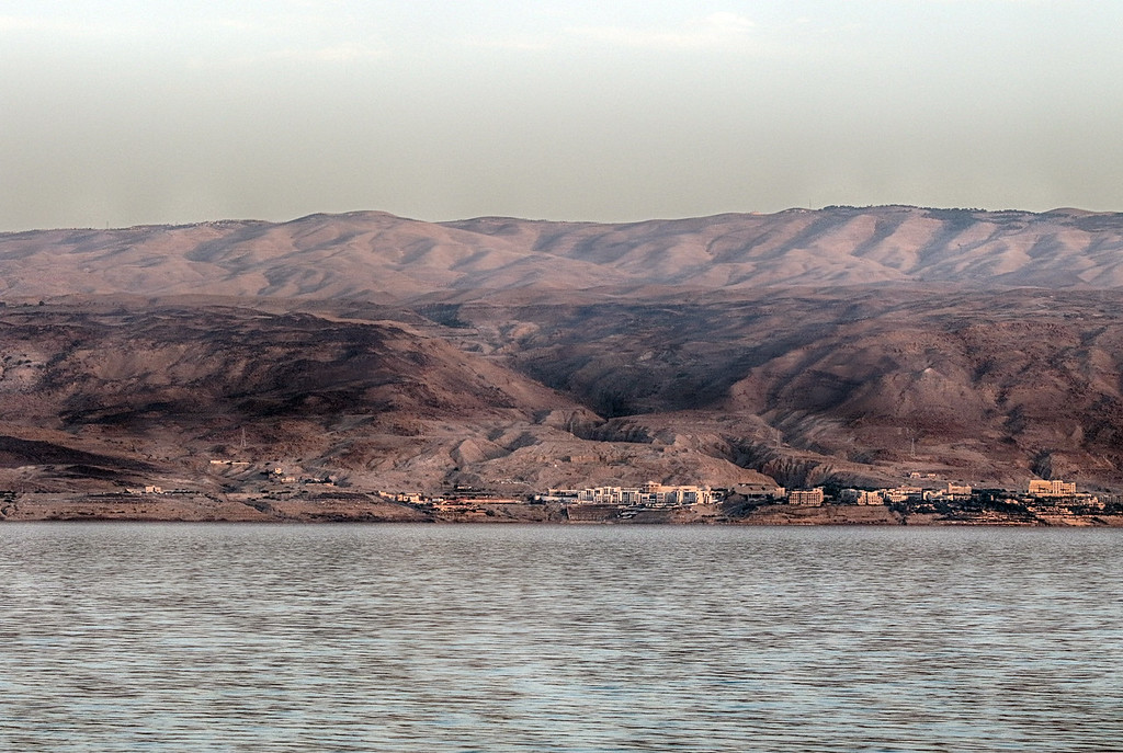 View Across Dead Sea to Jordan