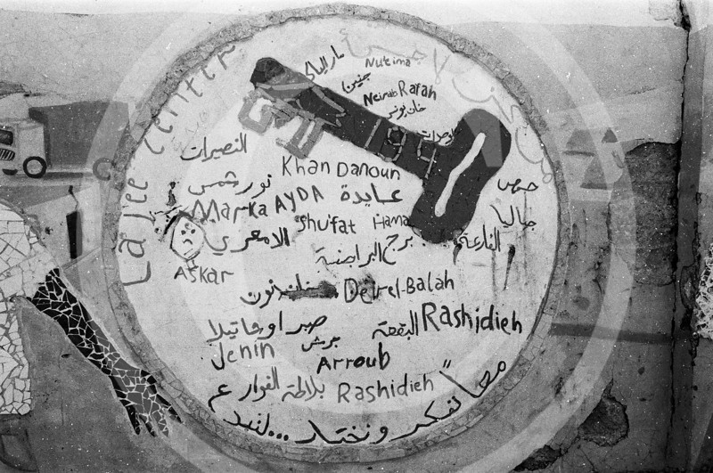 Key of hope the names of the villages that had to leave Israel in 1947.