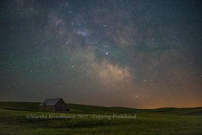 Farm Beneath the Milky Way