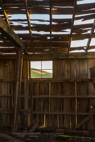 Thru the Barn Window