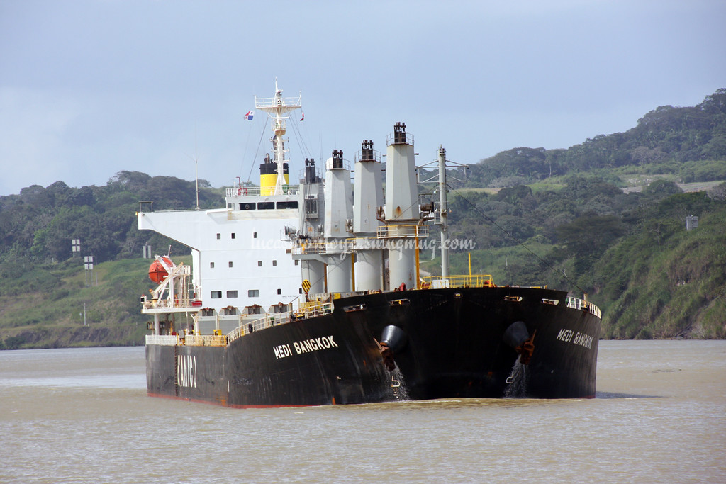 Panama Canal, Atlantic to Pacific - December 2013