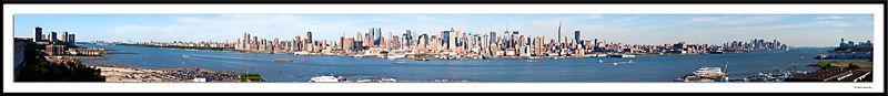 Manhattan from Bridge to Bridge (George Washington to Verrazano Narrows)