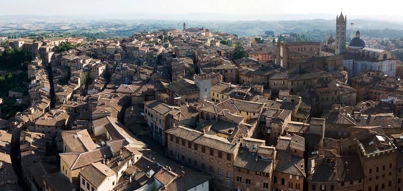 Panorama, Siena<br /> <br /> 8 shot hand held panorama
