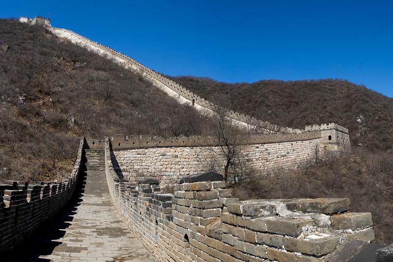 The Great Wall, Mutianyu, Huairou County, China<br /> <br /> 6-shot hand-held panorama