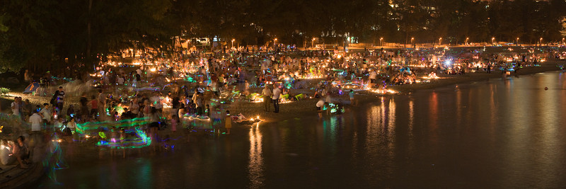 Lantern Festival, Discovery Bay, Hong Kong<br /> <br /> 10 second exposure, 4 shot panorama