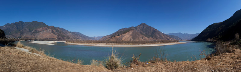 First Bend of the Yangtse, North West Yunnan
