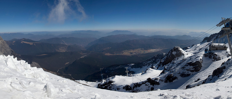The View from 4560m, Jade Dragon Snow Mountain, Yunnan