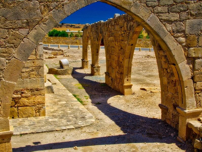A museum in Kouklia, Paphos