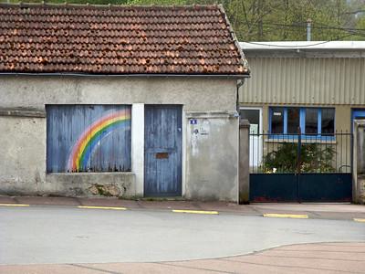 Random rainbows