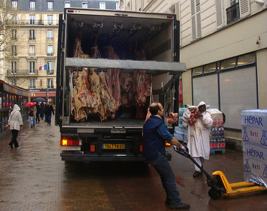 Butchers delivery