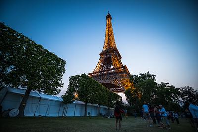 The Eiffel at Dusk
