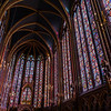 Your first view upon entering the upper chapel of Sainte-Chapelle