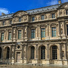A wall of the Cour Caree of the Louvre