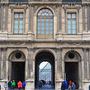 A gap in the rain, a gap in the Louvre