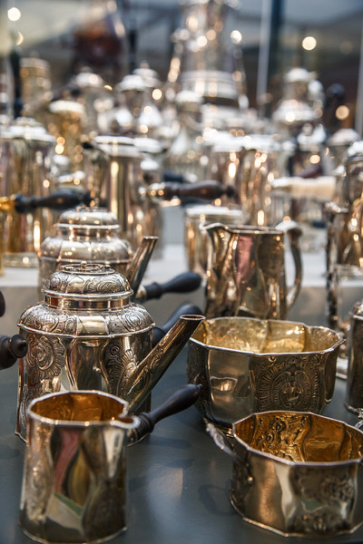 Chocolate serving vessels from the time chocolate hit Europe