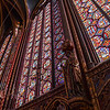 Stained glass arching ever upwards