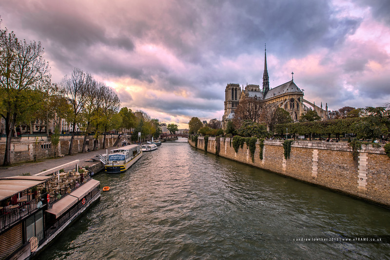 Early Evening at Notre Dame