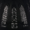 Chartres Windows in Black and White