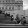On the steps of Musee D'Orsay