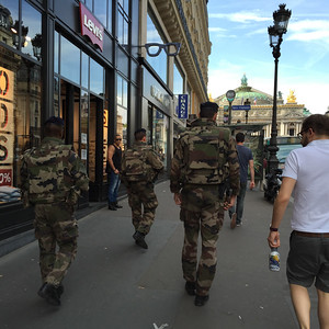 French aren't kidding about terrorists