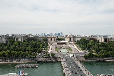 Trocadéro and la Défense