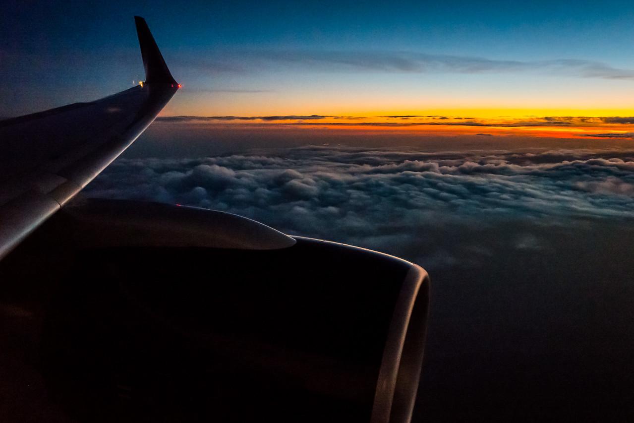 Dawn over Paris