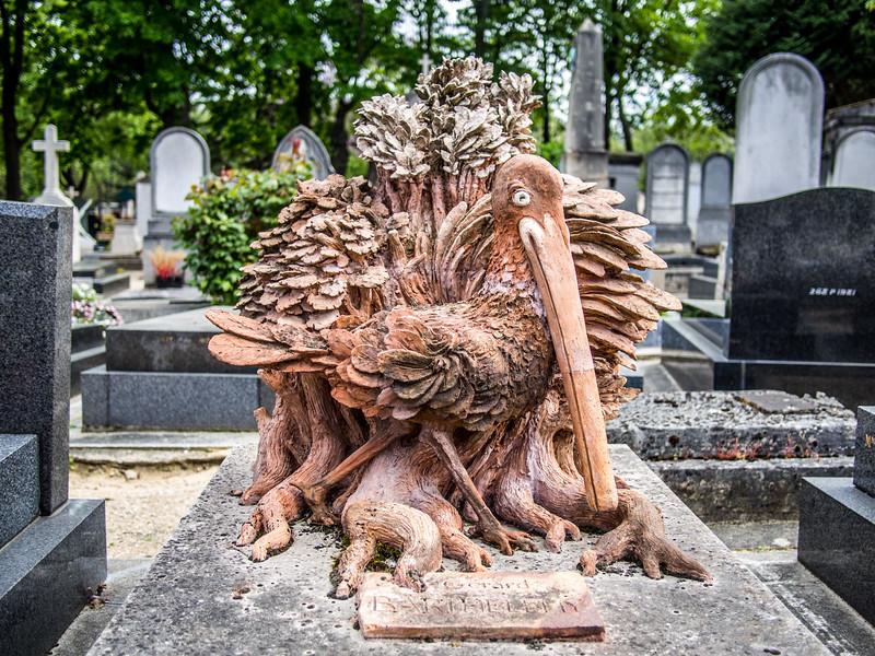 Paris cemetery on Monmartre