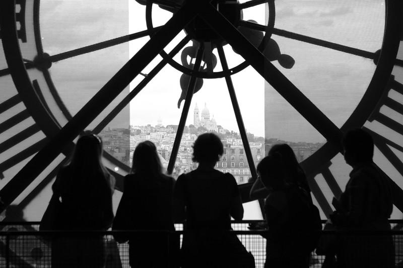 View of Sacré-Cœur from Musée d'Orsay