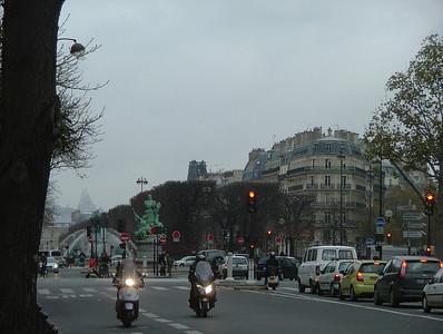 Motorcycles in Montparnasse
