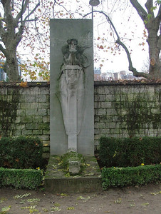 Baudelaire's grave at the Cimetiere Montparnasse
