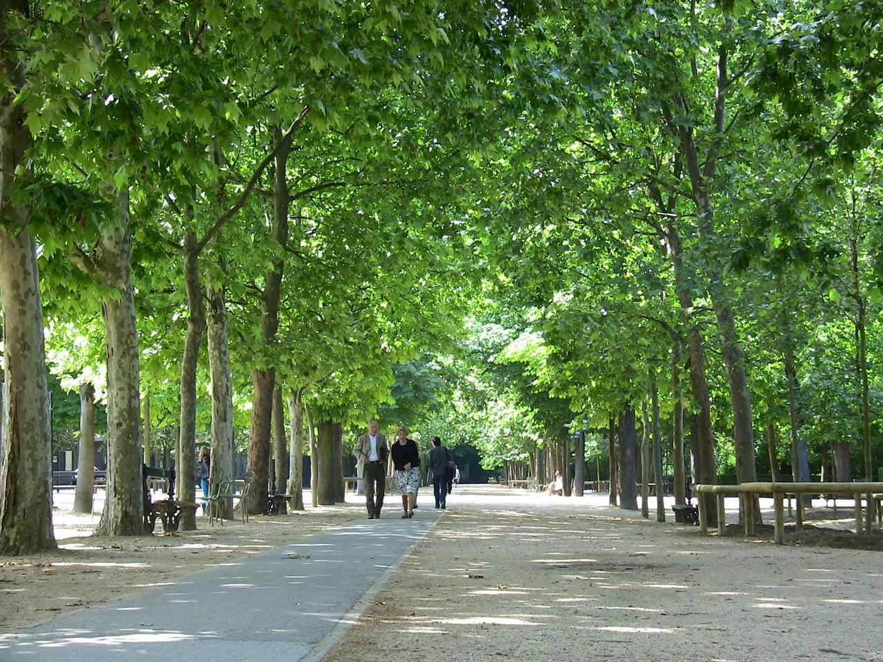 Park near Senate