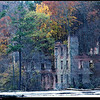 "15Nov08  ruins of the new manchester manufacturing mill, sweetwater creek state park.  i'll tie this in w/ today's history lesson: on this date in 1896 the niagara falls power plant started up.  before its use for electrical generation, water was used to generate power in the forms of belts and pulleys.  that was the case with new manchester mfg, which redirected a portion of sweetwater creek through the facility to turn the water turbines.  the ruins are a result of sherman's march to the sea, burning anything of military value to the confederacy as he went.  <a href=""http://carpelumen.smugmug.com/gallery/3762079_ptSNj/1/221931831_xx5YE/Medium"">one year ago.</a>  f/8, 1/160s, iso 400."