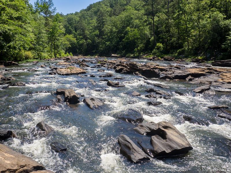10 Jun 2016<br /> <br /> sweetwater creek, west of atlanta.<br /> <br /> f/11, 1/160s, iso 200.