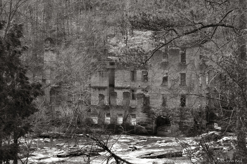 (13Jan13)<br /> <br /> new manchester manufacturing, from across sweetwater creek.<br /> <br /> f/10, 1/80s, iso 640.