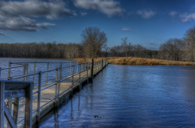 Cash Lake walkway, Patuxent Wildlife Refuge, Maryland